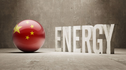 China. Energy  Concept.