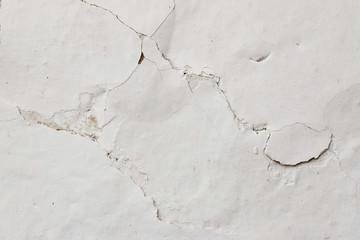 Cracked Plaster - Grunge Background