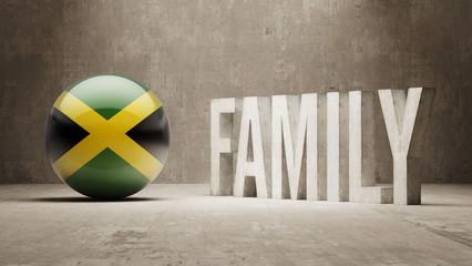 Jamaica. Family  Concept.