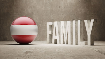 Austria. Family  Concept.