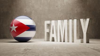 Cuba. Family  Concept.