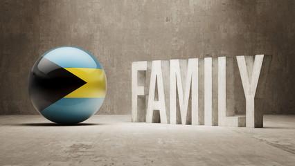 Bahamas. Family  Concept.