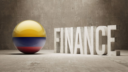 Colombia. Finance  Concept.