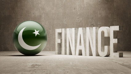 Pakistan. Finance  Concept.