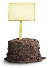 Pile of soil, profitable proposition