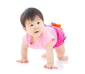 Beautiful asian baby