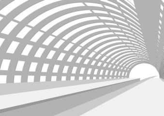 イラスト素材「駅のプラットホーム」
