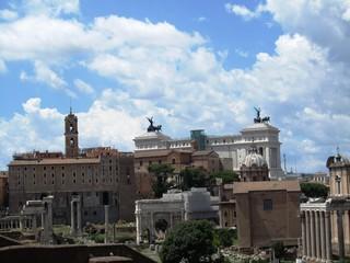 Forum Romanum in Rom - Italien