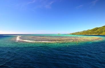 TAHITI : le lagon