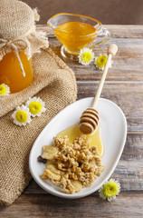 Muesli whit honey