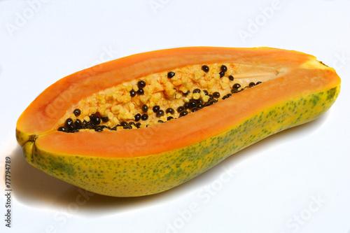 canvas print picture Papaya