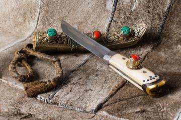 Yakutia (tibet) retro knife, 19th century