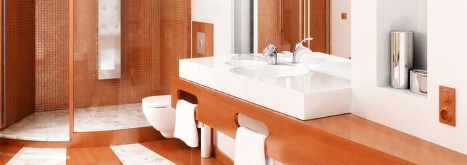 Bathroom Detail Panorama