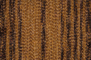 brown striped fabric as background