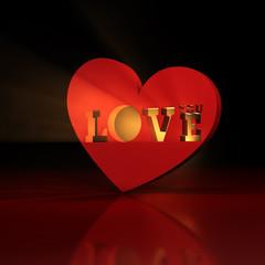 LOVE you - HEART - Light