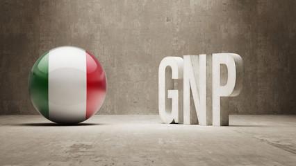 GNP  Concept.