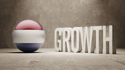 Netherlands. Growth  Concept.