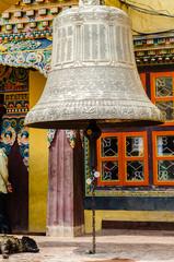 Buddhist bell in boudhanath, Kathmandu