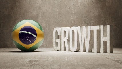 Brazil. Growth  Concept.