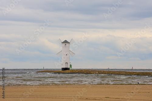 Latarnia Morska, Swinoujscie wyjscie z portu, Polska - 77800356