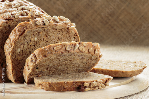 In de dag Brood Rye bread with sunflower seeds