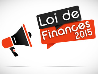 mégaphone : loi de finances 2015