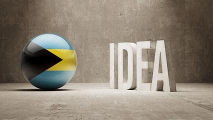 Bahamas. Idea  Concept.