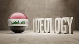 Iraq. Ideology  Concept. poster