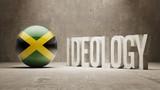 Jamaica. Ideology  Concept. poster
