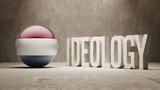 Netherlands. Ideology  Concept. poster