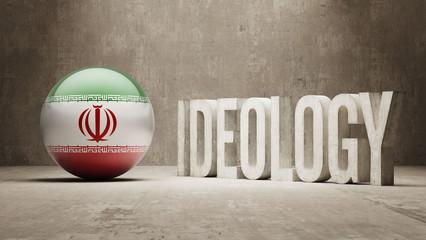 Iran. Ideology  Concept.