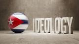 Cuba. Ideology  Concept. poster