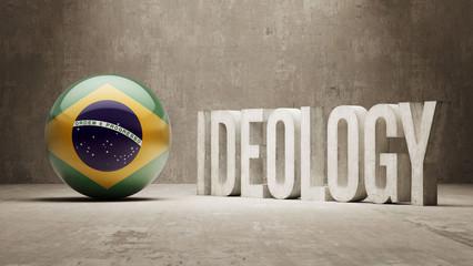 Brazil. Ideology  Concept.