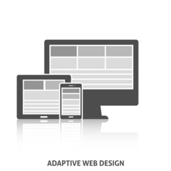 Adaptive Web Design Icon