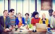 Design Team Communication Office Concept