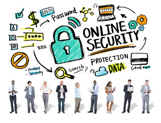 Online Security Protection Internet Safety Business Technology C