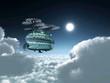 Постер, плакат: Fantasy Airship