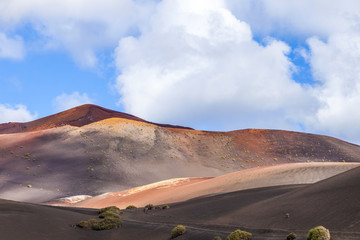 Mountains of fire,Timanfaya National Park in Lanzarote