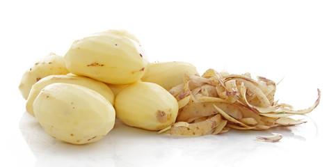 Pommes de terre et pelures