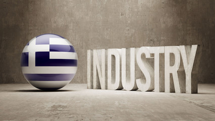 Greece. Industry Concept.