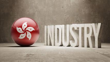 Hong Kong. Industry Concept.
