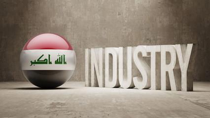 Iraq. Industry Concept.