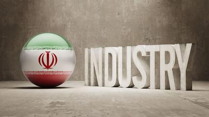 Iran. Industry Concept.