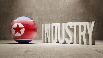 North Korea. Industry Concept.