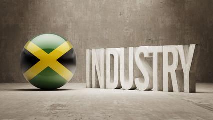 Jamaica. Industry Concept.