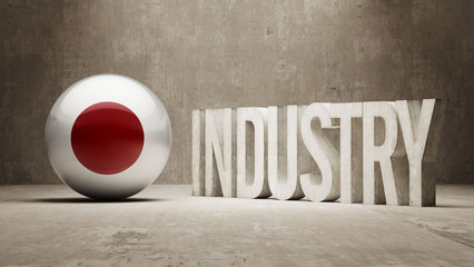 Japan. Industry Concept.