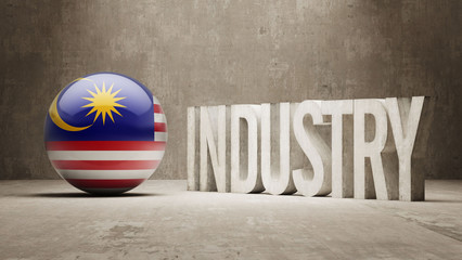 Malaysia. Industry Concept.