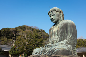 Big Buddha in Kamakura, Japan