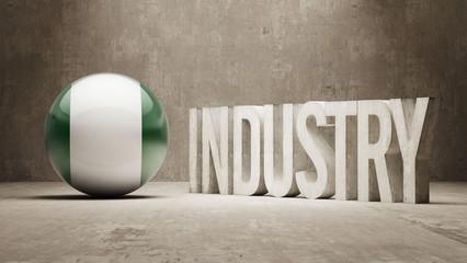 Nigeria. Industry Concept.