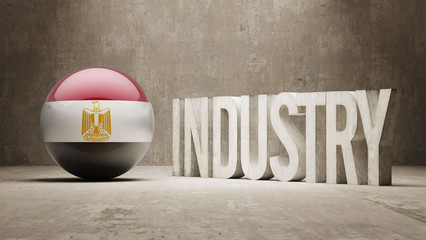 Egypt. Industry Concept.